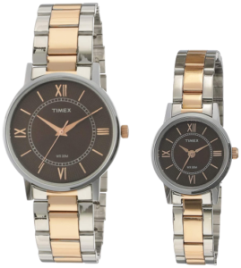 Best Timex Analog Brown wrist watches for couples