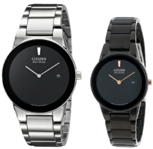Citizen Axiom Couple Watches for parents - best match