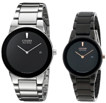Citizen Axiom Couple Watches for parents - best match