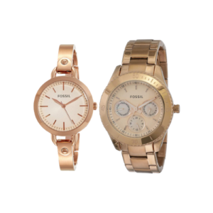 Fossil Analog Rose Gold