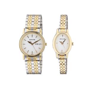 Sonata Budget Couple watches