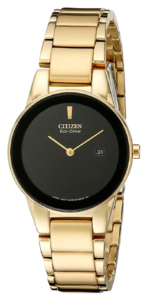 Citizen Analog Black Watch for Mom
