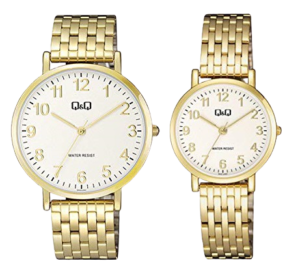 Q&Q Analog Couple Watches