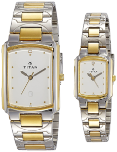 Titan Couple watches - pair 6